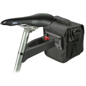 KlickFix Allrounder Touring Cykeltaske, black